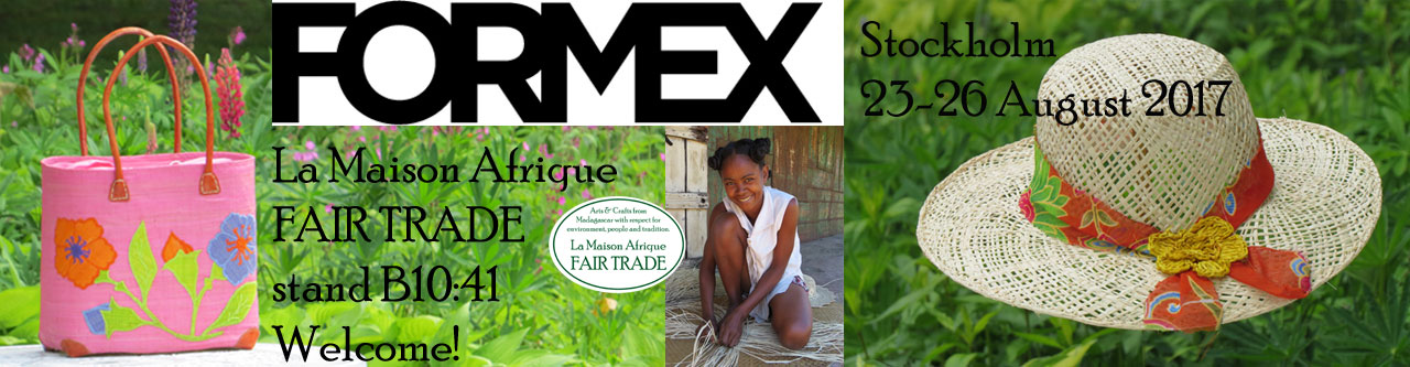 la maison afrique fairtrade formex august 2017